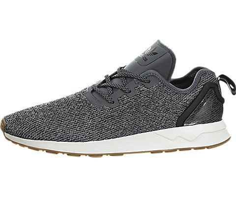 3b0e5c49a68b4 Adidas Men s Originals ZX Flux ADV Asym Shoes Grey Black White 9 ...