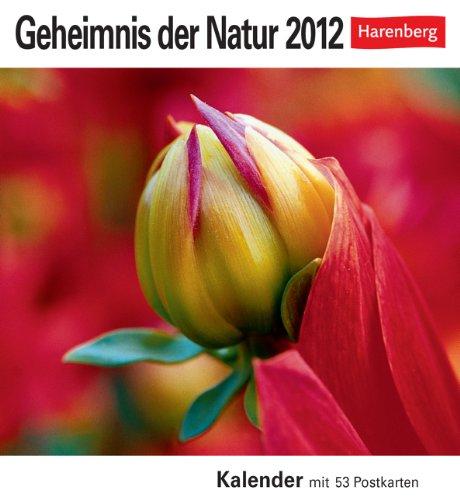 Geheimnis der Natur 2012: 53 Postkarten