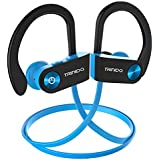 Bluetooth Headset, TRINIDa IPX7 Waterproof Sport Wireless Earbudsfor Running, Best Inear HiFi Stereo Earphones w/Micand 8-10 HoursPlayback Work Out at The GymNoiseCancellingWirelessHeadphones