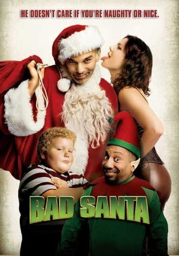 Amazon.com: Movie Posters Bad Santa - 27 x 40: Posters & Prints