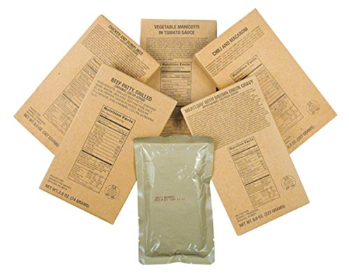 Captain Dave's 12 Military MRE Entrees,Meals Ready to Eat, MREs Case by Captain Dave's