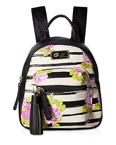 Luv Betsey Women's Ador Mini Backpack Rosebud (Rose Bud Charm)