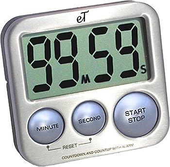 eTradewinds Digital Auto Memory Kitchen Timer