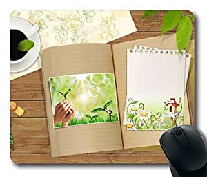 Desk 6 Mouse Pad Desktop Laptop Mousepads Comfortable Office Mouse Pad Mat Cute Gaming Mouse Pad by runtopwell