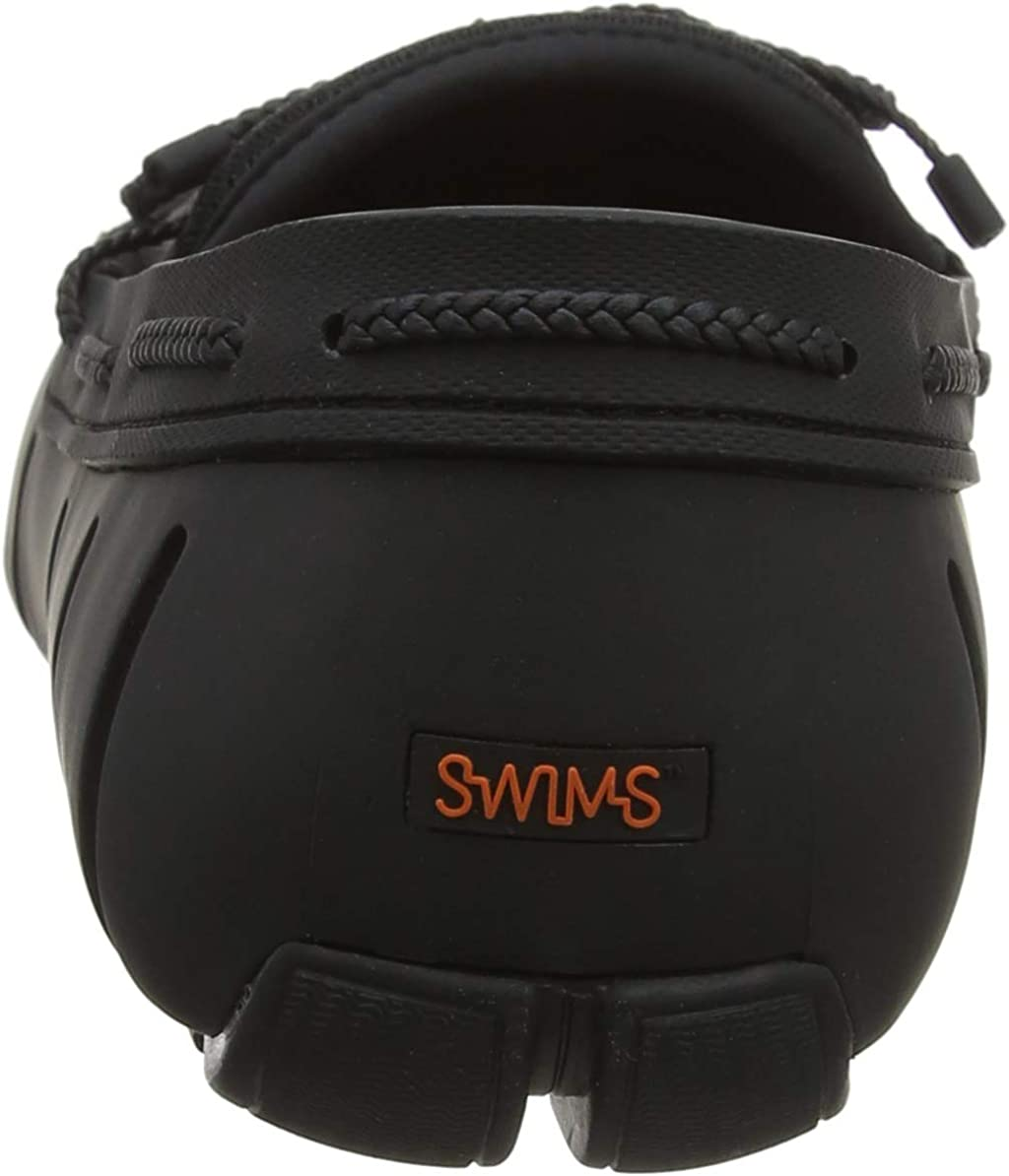 SWIMS Braided Lace Loafer, Mocassins Homme Noir Black 001 Blk