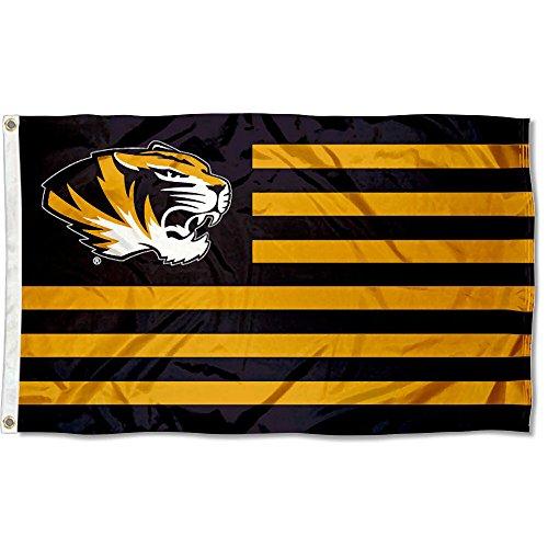 Missouri Tigers Stars and Stripes Nation Flag