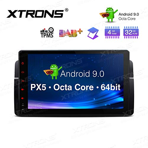 XTRONS 9 Inch Android 9.0 Car Stereo