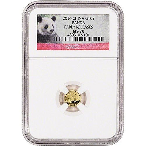 Chinese Gold Panda - 9