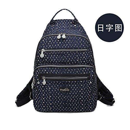 Zazero Fashion Bag - Mochila de Lona para Mujer, Bark Grain Diurnal graph