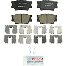 Bosch BC1212 QuietCast Premium Ceramic Disc Brake Pad Set For: Lexus ES300h, ES350, HS250h; Pontiac Vibe; Toyota Avalon, Camry, Matrix, RAV4, Rear