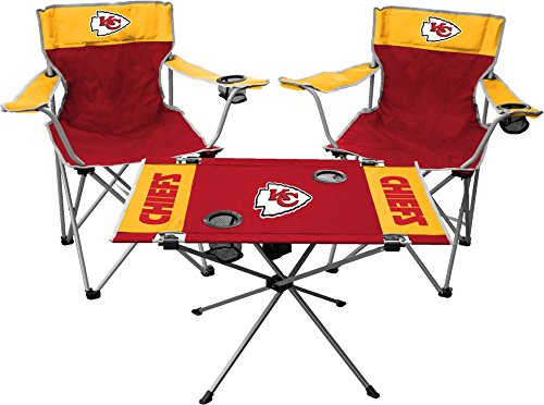 Rawlings NFL Kansas City Chiefs Tailgate Kit, Team Color, One Size ()