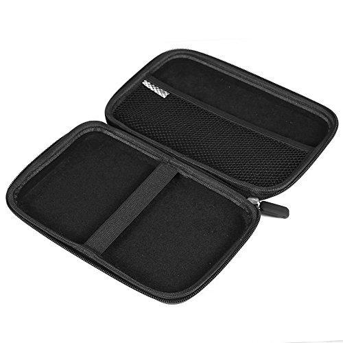 Agile-Shop 7 inch EVA Large Hard Shell GPS Carry Case for Garmin Nuvi 2797lmt 2798LMT 2757LM 2789 TomTom Magellan Roadmate GPS Devices - Black