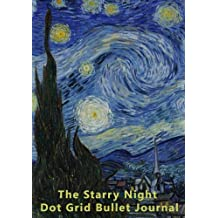 The Starry Night Dot Grid Bullet Notebook: A Composition and Graphing Journal