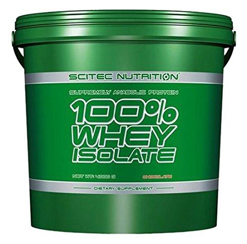 Scitec Whey Isolate Proteína de Suero - 4000 gr - Chocolate: Amazon.es: Salud y cuidado personal