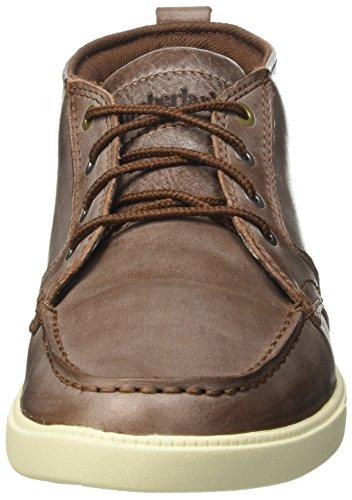 Timberland Newmarket_fulk Lp Chukka Mt Leather - Botines Chukka Hombre Marrón - Braun (Potting Soil)