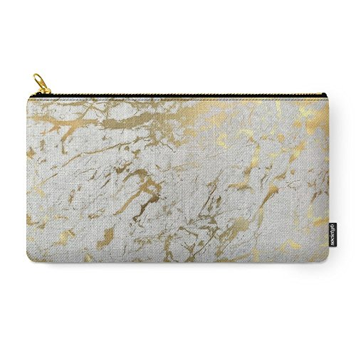 gold marble carry pouch