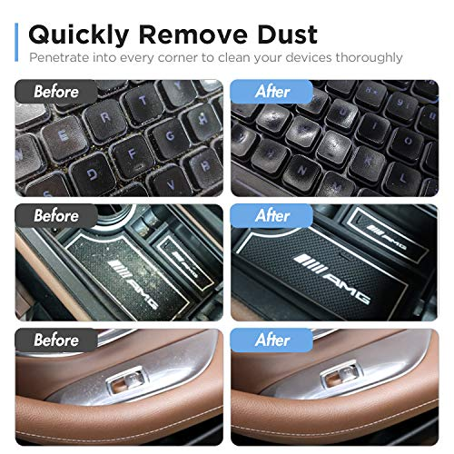 Universal Cleaning Gel for Car Vents, Keyboards,Car Interiors,Home, Electronics Remove Dust Cleaning Gel 4Pcs