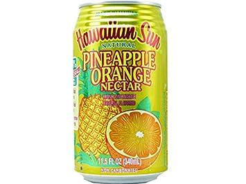 Amazon com : Hawaiian Sun Pineapple Orange Nectar 18pk X 11 5z