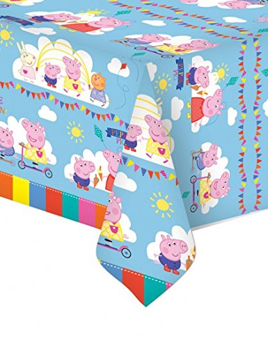 Peppa Pig Plastic Tablecover - 138cm x -