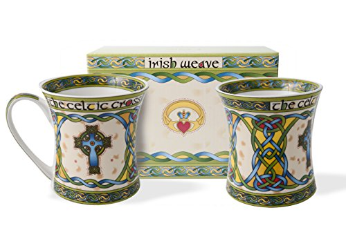 Royal Tara Traditional Irish Weave Bone China Coffee
