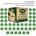 40 Ct. Green Mountain Coffee Roaster Coffee Roasters Favorites Collection
