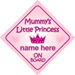 Mummy's Little Princess On Board Pers...