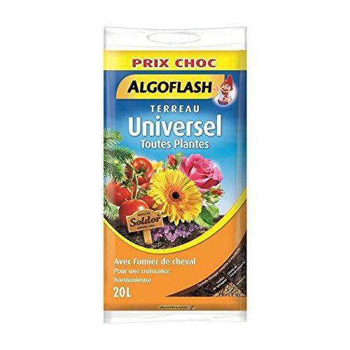 ALGOFLASH Terreau Universel - 20 L - Prix choc 3167770208061