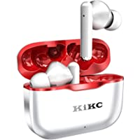 Kikc Wireless Earbuds Bluetooth 5.0 Wireless Headphones Noise Cancelling Built-in Microphone Charging Case Bluetooth…