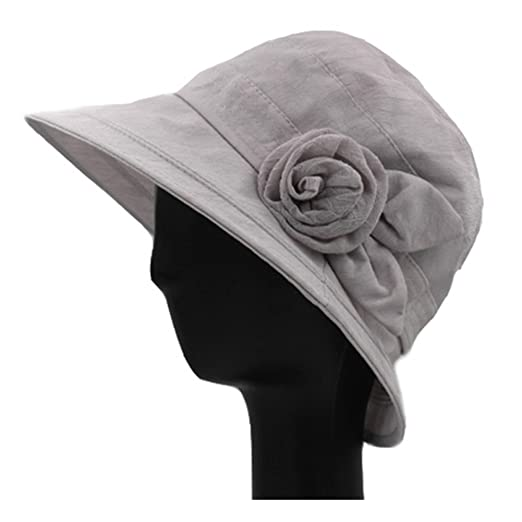 51f7ac0c5d1 Hats for Women Summer sunhat Foldable middle-aged mother cap Outdoor ...