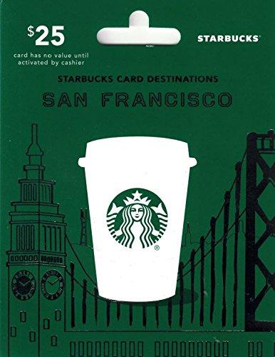 Amazon Starbucks Happy Birthday Gift Card 25 Gift Cards