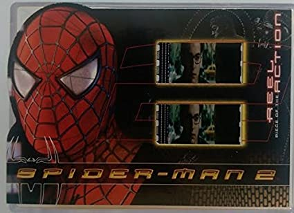 Amazon Com Spider Man 2 Movie 2004 Upper Deck Reel Piece Of The
