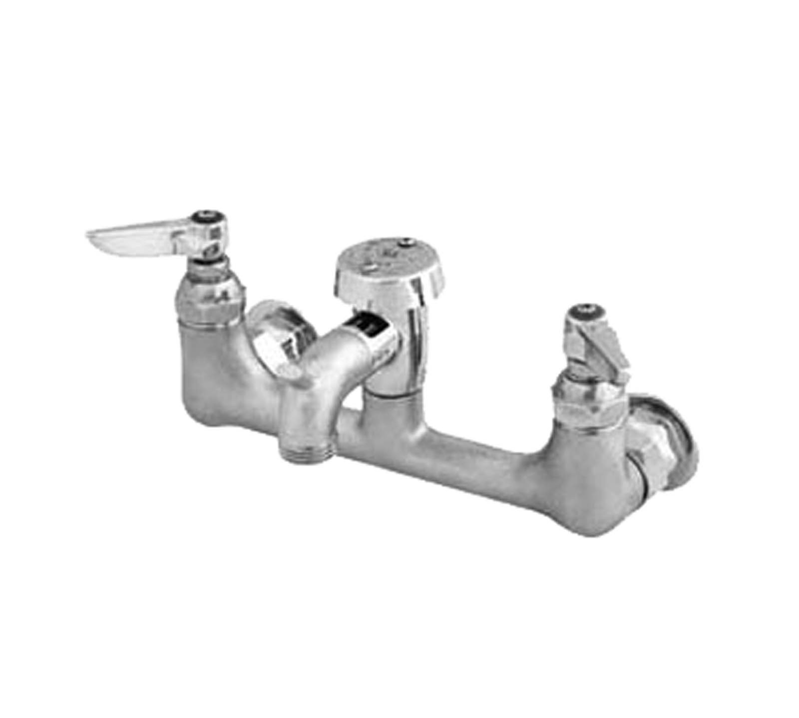 TS Brass B-0674-RGH Service Sink Faucet, Chrome