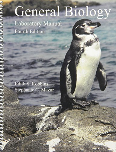 General Biology: Laboratory Manual