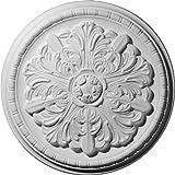 Ekena Millwork CM17WA 17 1/8-Inch OD x 1 1/2-Inch Washington Ceiling Medallion
