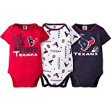 Houston Texans All Season 3-Pack Bodysuit Set- Infants (6-12 Months)