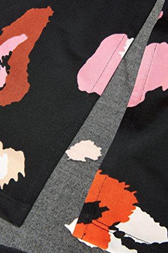 Schwarz Damen Animalprint Abstraktem mit Kleid next wXxdqUU