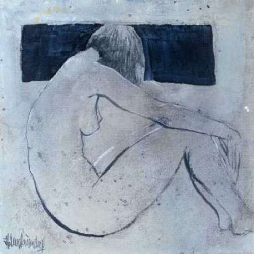 """Studies from the nude II by Heleen Vriesendorp - 24"""" x 24"""" Giclee Canvas Art Print"""