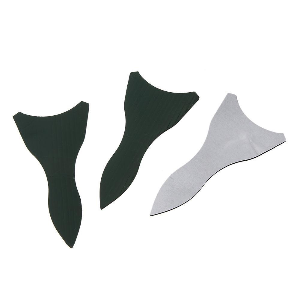 Childplaymate 10pcs Air Vortex Generator Diffuser Shark Fin Set Kit For Windscreen Spoiler Roof Wing