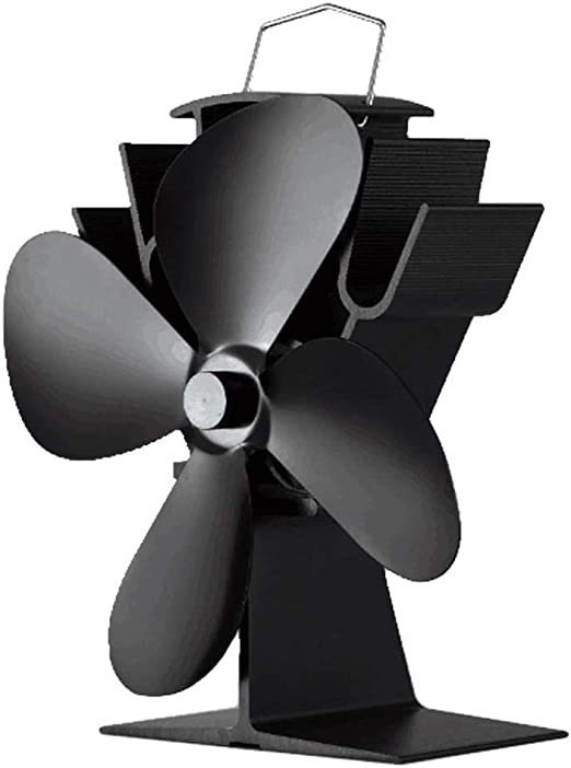 XHHWZB Inicio Calentador, Estufa-hogar Completo Fan-Heat Powered ...
