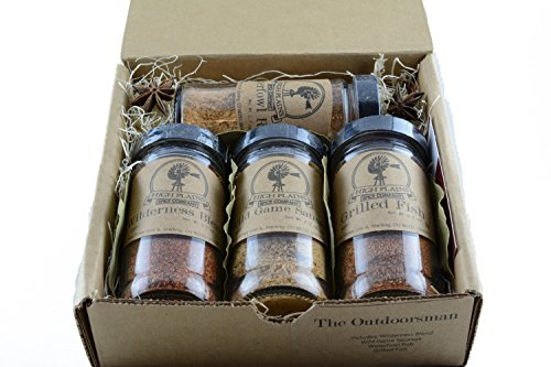 The Outdoorsman Gift Set of 4 ~ Gift Set by High Plains...