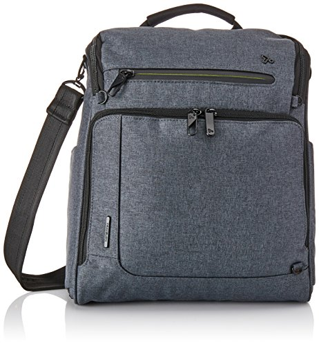 Travelon Anti-Theft Urban N/s Tablet Messenger Bag, Slate