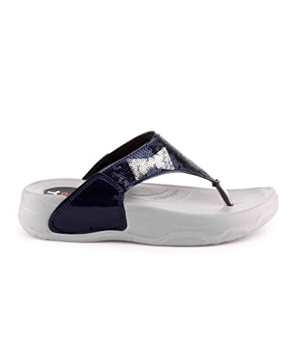 111c3612fda Pure-Hf-25 Navy Flats For Womens  Buy Online at Low Prices in India ...
