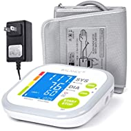 Blood Pressure Monitor Blood Pressure Cuff by GreaterGoods, Digital Upper Arm Cuff, BP Meter With Large Display, Kit also comes with Tubing and Device Bag (BP Monitor New)