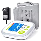 Blood Pressure Monitor Cuff Upper Arm by GreaterGoods, Digital BP Meter With Large Display, Upper Arm Cuff, Kit also comes with Tubing and Device Bag (BP Monitor New)