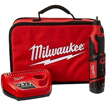 Milwaukee 2460-21 M12 12V Cordless Rotary Tool Kit