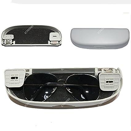 ICT Ronix gris gafas de sol Soporte Gafas de piezas de repuesto compartimento estante Gafas funda jaula caja para Mercedes-Benz Clase R: Amazon.es: Coche y moto