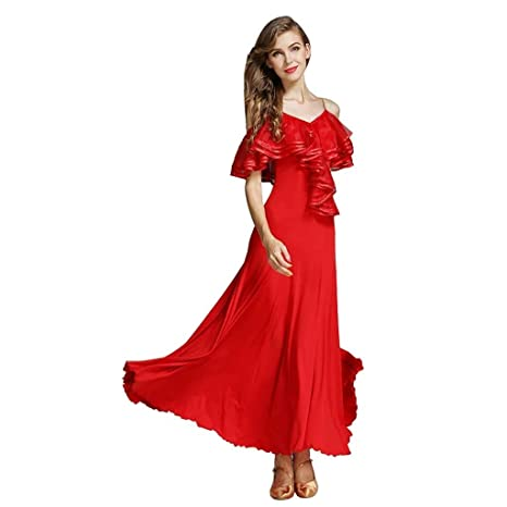 JTSYUXN Chica Adulta Baile Moderno Disfraces Disfraces Sling Lotus ...