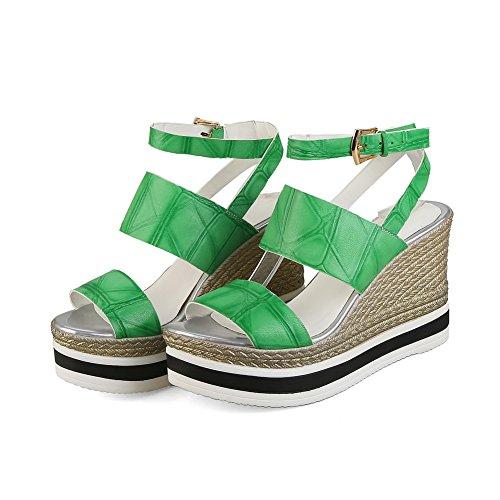 35 Green Verde EU AN DIU01062 Ballerine Donna 7wRxCUq