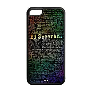 Customize Famous Singer Ed Sheeran Back Cover Case for iphone 5/5s Protect Your Phone Designed by HnW Accessories
