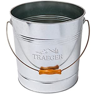 Traeger BAC430 20Lb Metal Bucket from legendary Traeger